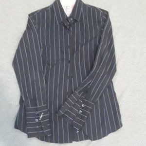 Faconnable Button-down Striped Shirt